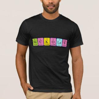 Nickolas periodic table name shirt