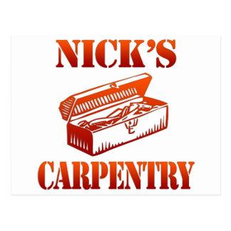 Nick's Carpentry Postcard