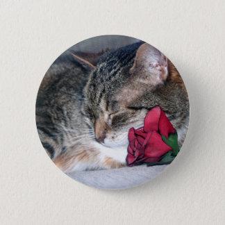 Nicky & A Rose Button