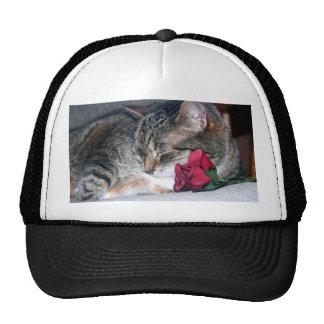 Nicky & A Rose Hat