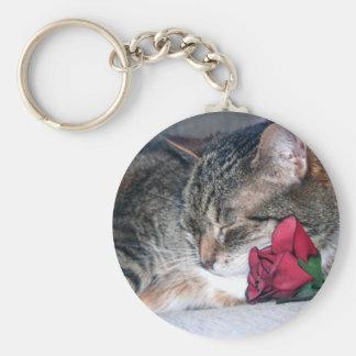 Nicky & A Rose Keychain