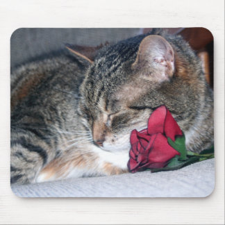 Nicky & A Rose Mousepad