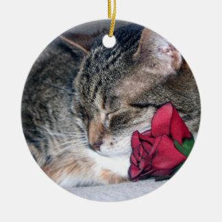 Nicky & A Rose Ornament