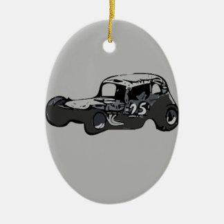 Nicky Giardina Danbury Fair Racearena SNYRA NASCAR Ceramic Ornament