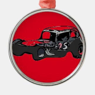 Nicky Giardina Danbury Fair Racearena SNYRA NASCAR Metal Ornament