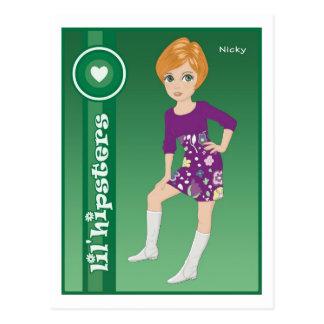 Nicky Postcard