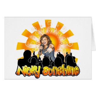 Nicky Sunshine Products Card