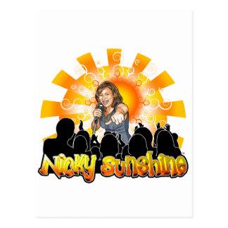 Nicky Sunshine Products Postcard