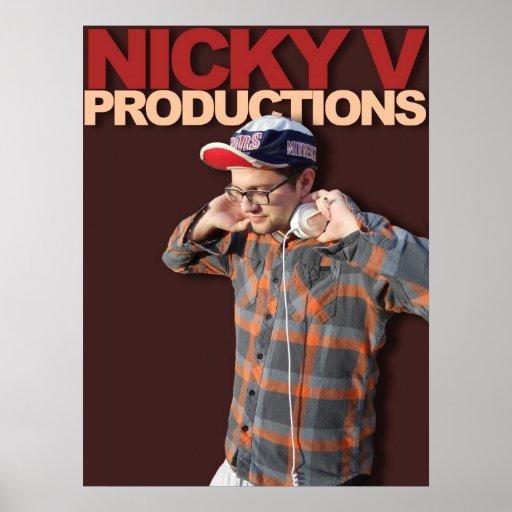 Nicky V POSTER