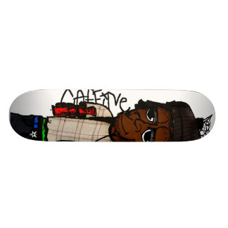 Nicky's Spraycan Monkey Skateboard Deck