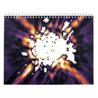 NICMOS Image of HR 8799 Planetary System Calendar