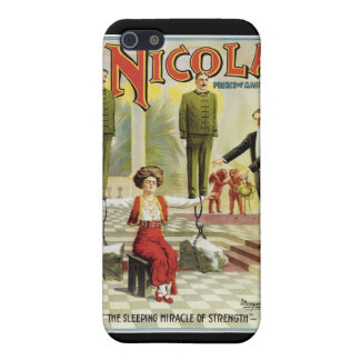 Nicola Prince of Magic ~ Vintage Magician Act iPhone SE/5/5s Cover