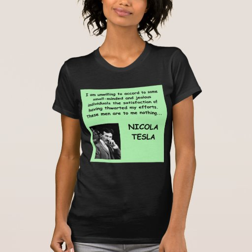 Nicola Tesla Camiseta
