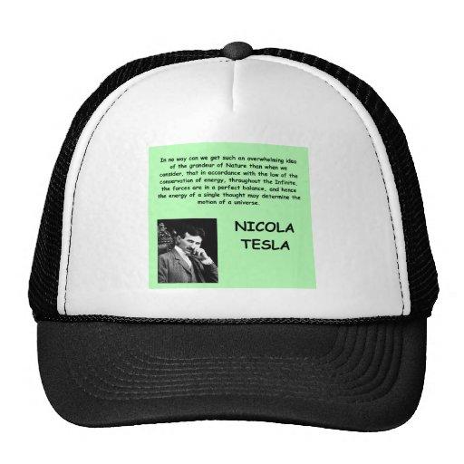 Nicola Tesla Gorro