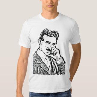 nicola tesla vibrasi resonansi frekwensi t shirt