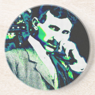 Nicola Tesla Vintage New Art Coaster