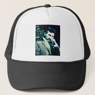 Nicola Tesla Vintage New Art Trucker Hat