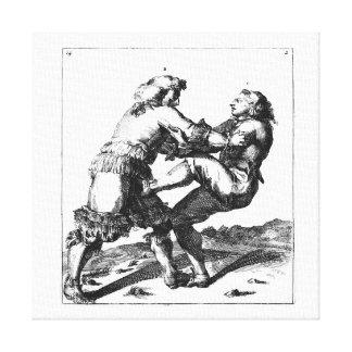 Nicolaes Petter/lona de Romeyn de Hooghe Lona Estirada Galerias