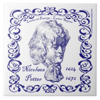 Nicolaes Petter - teja azul holandesa