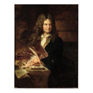 Nicolás Boileau después de 1704 Postal