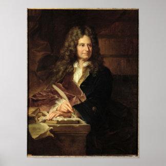 Nicolás Boileau después de 1704 Póster
