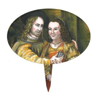 Nicolas Cage, pintura de Rembrandt, cinta de la Figuras Para Tartas