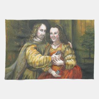 Nicolas Cage, pintura de Rembrandt, cinta de la Toallas De Mano