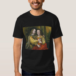 Nicolas Cage, Rembrandt Painting, Mix Tape Shirt