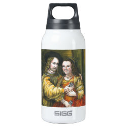 Nicolas Cage, Rembrandt Painting, Mix Tape Thermos Bottle