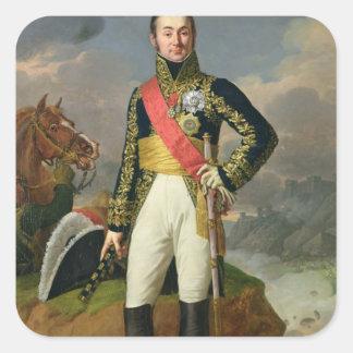 Nicolas-Charles Oudinot  Duke of Reggio Square Sticker