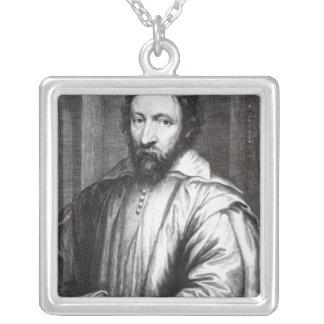 Nicolas Claude Fabri de Peiresc Square Pendant Necklace