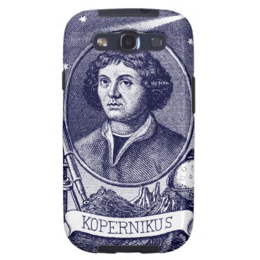 Nicolás Copérnico Samsung Galaxy SIII Funda