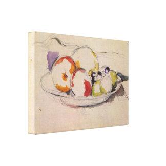 Nicolas de Largillière - Still life with fruits Canvas Print