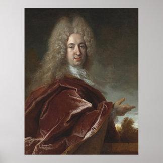 Nicolas de Largillierre Paris 1656-1746 Poster