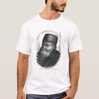 Nicolas Flamel engraved by Balthazar Moncornet T-Shirt