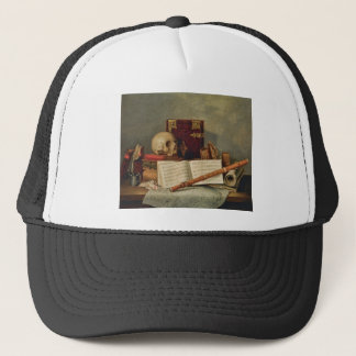 Nicolas Henri Jeaurat de Bertry Vanitas Trucker Hat