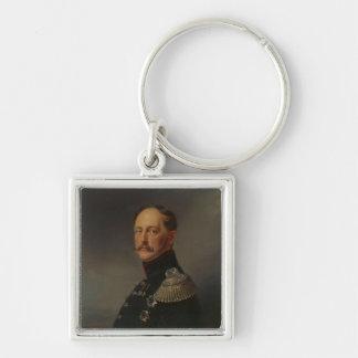 Nicolás I, 1852 Llavero Cuadrado Plateado