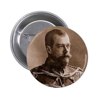 Nicolás II Pin Redondo 5 Cm