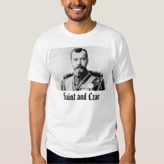 Nicolás II, santo y zar Camisas