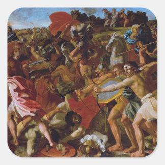 Nicolas Poussin Art Square Sticker