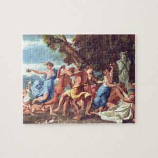 Nicolas Poussin- Bacchanal before a Statue of Pan Puzzles