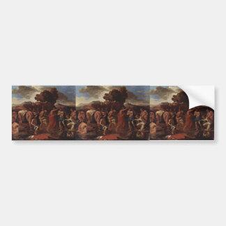 Nicolas Poussin- Baptism Bumper Sticker