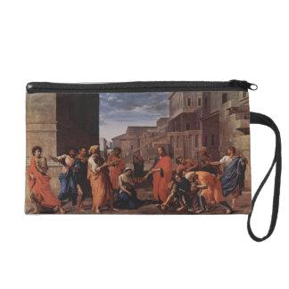 Nicolás Poussin- Cristo y la adúltera