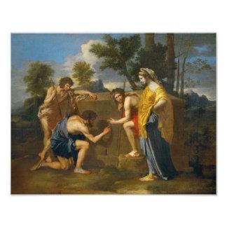 Nicolas Poussin - Et in Arcadia ego Photo Print