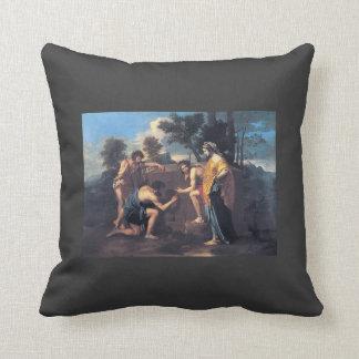 Nicolas Poussin- Et in Arcadia ego Pillows