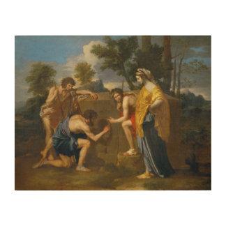 Nicolas Poussin - Et in Arcadia ego Wood Wall Art