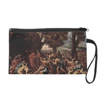 Nicolas Poussin-Moses Striking Water from the Rock Wristlets