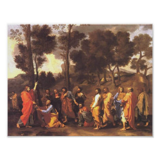 Nicolas Poussin- Ordination Poster