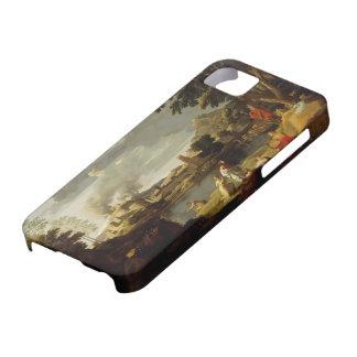 Nicolás Poussin- Orfeo y Eurydice iPhone 5 Cárcasa