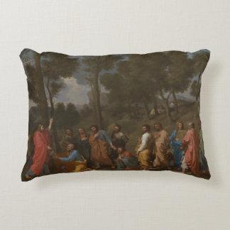 Nicolas Poussin - Sacrament of Ordination Decorative Pillow